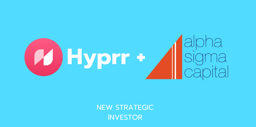 Alpha Sigma Capital invests in Blockchain Social Media Platform Hyprr Howdoo becomes Hyprr