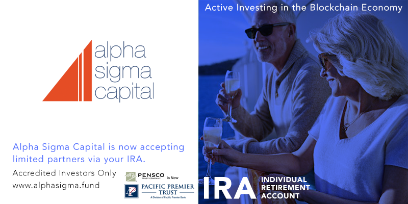 Invest Through Your IRA into Alpha Sigma Capital's Digital Asset Fund